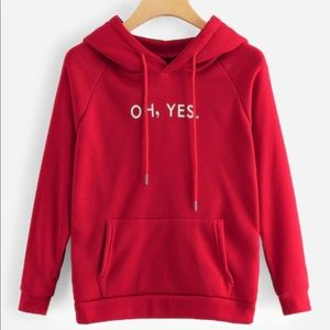 Sweaters - Oh yes hoodie